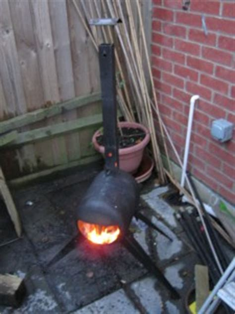 gas bottle chiminea plans turning a gas bottle into a log burner products of mike