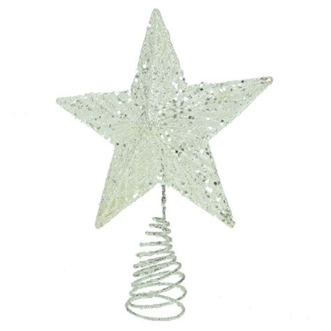gisela graham large white star christmas tree topper ebay