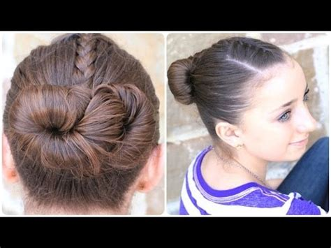 how to create an infinity bun updo hairstyles