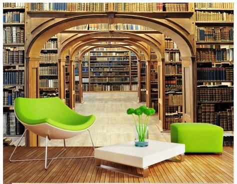 Library Wall Mural popular library wall murals buy cheap library wall murals