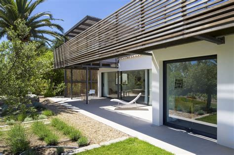 rich house design upgraded house in saint tropez embracing a rich natural
