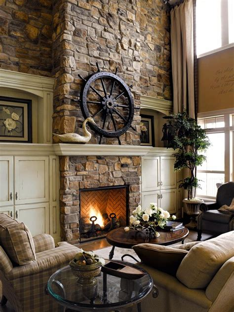 Rustic Living Room by Rustic Living Room Design Ideas