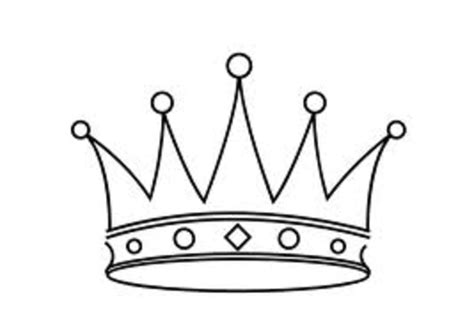Printable Black And White Crown | tiara free images at clker com vector clip art online