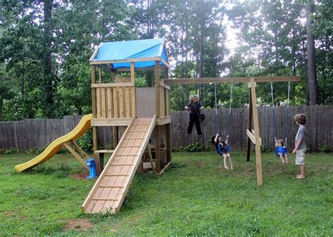 how to build a swing set free plans how to build your own swing set free plans woodworking