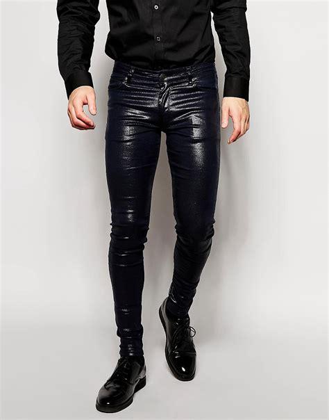 super skinny jeans shop for mens super skinny jeans asos asos asos extreme super skinny jeans with shiny coating