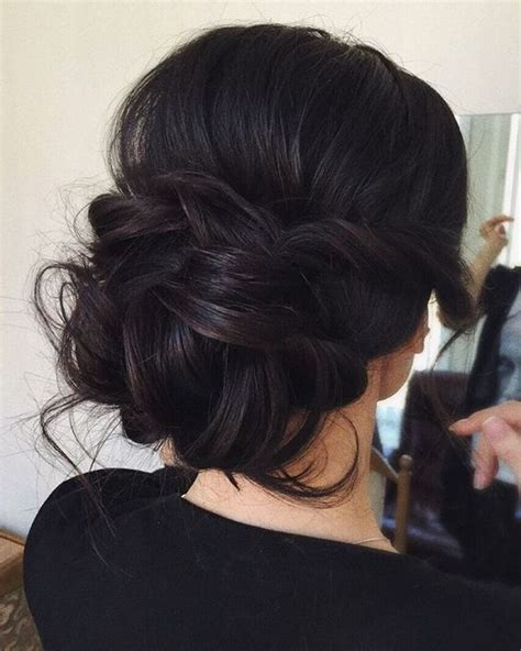 How To Comb A Bun With Side Swept Bangs | http natural hairs com how to make the perfect side