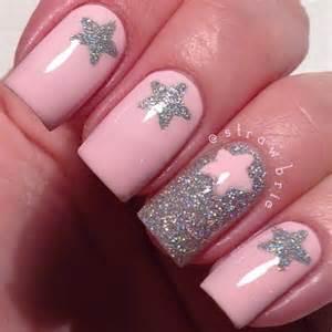 star nails cute nail designs pinterest