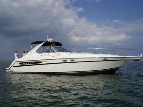maxum boats europe 1999 maxum 4100 scr power boat for sale www yachtworld