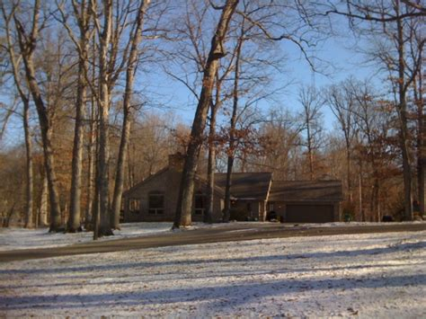 Tippecanoe County Property Records House For Sale With Wooded Acreage And Water Frontage