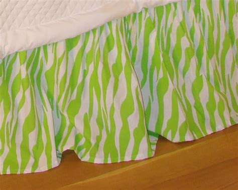lime green bed skirt zebra lime green full queen bed skirt interiordecorating