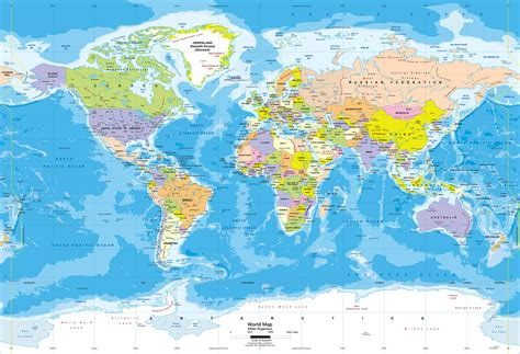 find cities on world map world political map wall mural miller projection