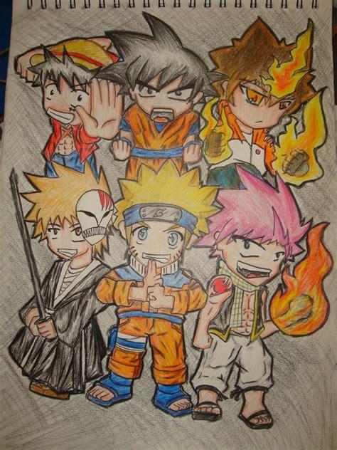 Big 0 Anime by Anime Big 6 By Maxfeli32 On Deviantart