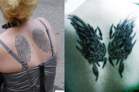 angel wing tattoos tattoo ideas designs amp meaning