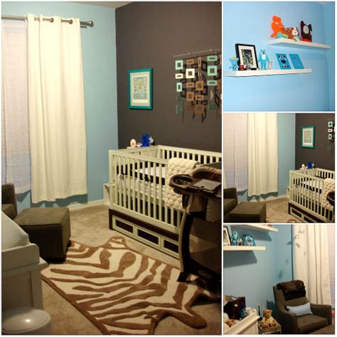 design reveal cool baby boy project nursery