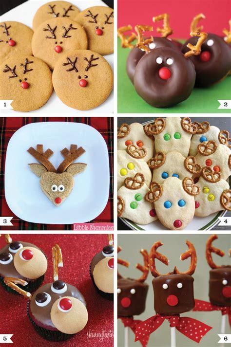 reindeer treats reindeer cookies holidays and food ideas