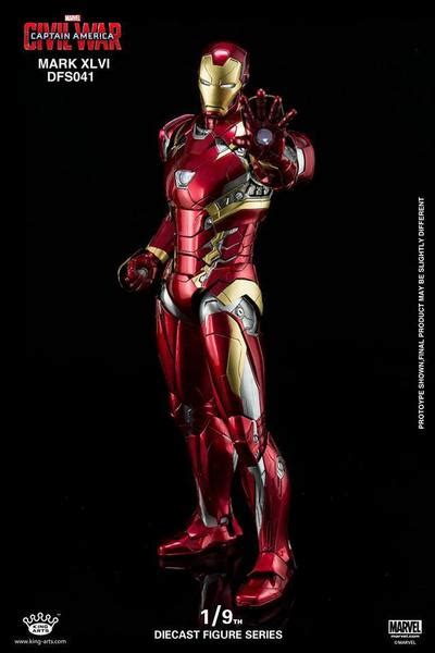 Toys Iron Xlvi Cosbaby L Original in stock king arts dfs041 captain america civil war iron marvelous toys