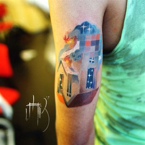 pixel tattoo animal tattoos with digital pixel glitches by russian
