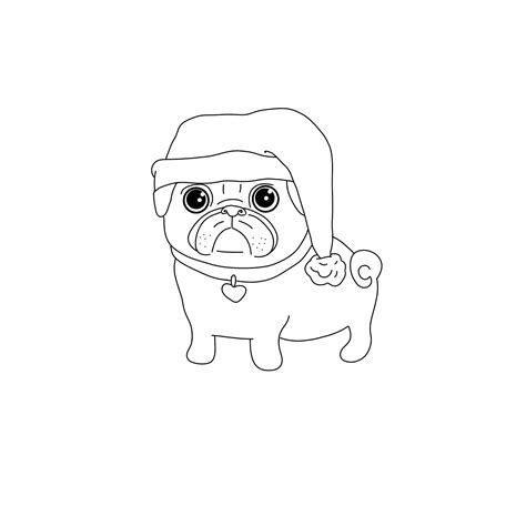 pug color pug coloring pages best coloring pages for