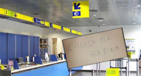 ufficio postale vibo valentia pizzo rapina all ufficio postale ferita una donna ora