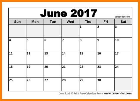 printable calendar june 2017 7 june 2017 calendar printable teller resume