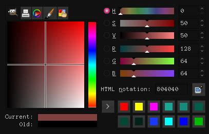 gimp color picker c how do i create a color picker with variable hue and