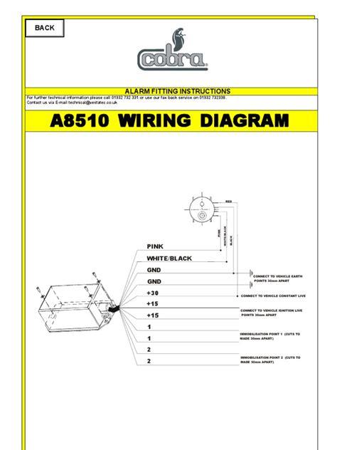 cobra 8185 alarm wiring diagram wiring diagram