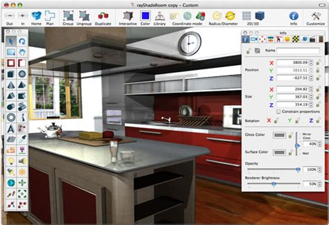 kitchen interior design software decorator home design software free