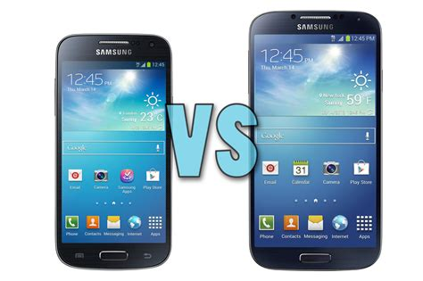 Samsung Galaxy S4 S4 samsung galaxy s4 mini vs galaxy s4 what s the difference