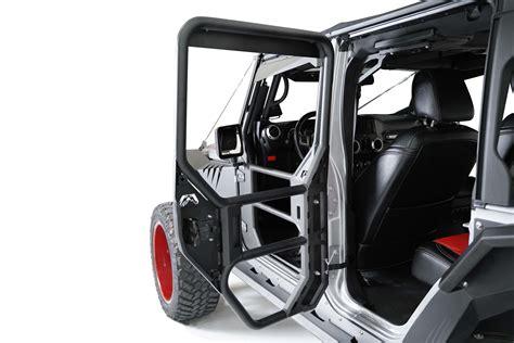 jeep jku tube doors full tube doors fab fours