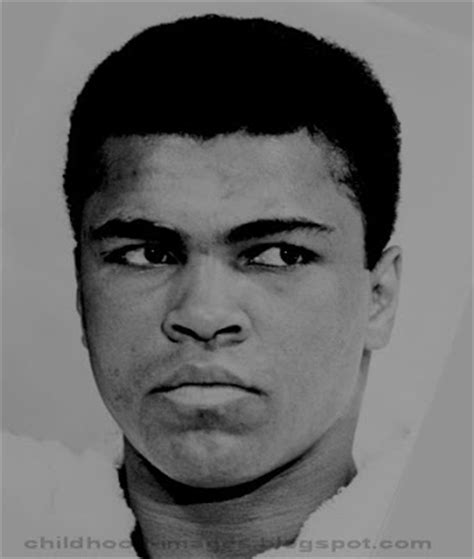 muhammad biography childhood childhood pictures boxer muhammad ali mini biography and