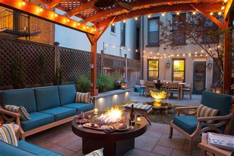 dog friendly backyard patio transitional with medium wood