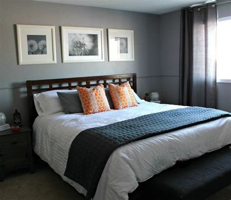 Grey Bedroom by Turtles And Tails Master Bedroom Before And After