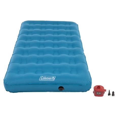 inflatable beds target coleman durarest plus single high airbed twin fitness
