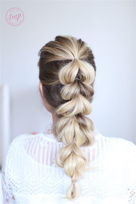 pull  braid
