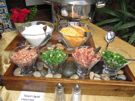 potato bar toppings 17 best images about casa feliz and arthur s catering on