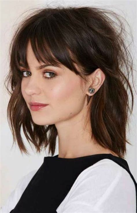 easy to maintain shoulder length haircuts my favorite medium length hairstyles of 2016