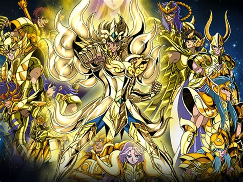 imagenes en movimiento de los caballeros del zodiaco las armaduras doradas est 225 n de regreso en caballeros del