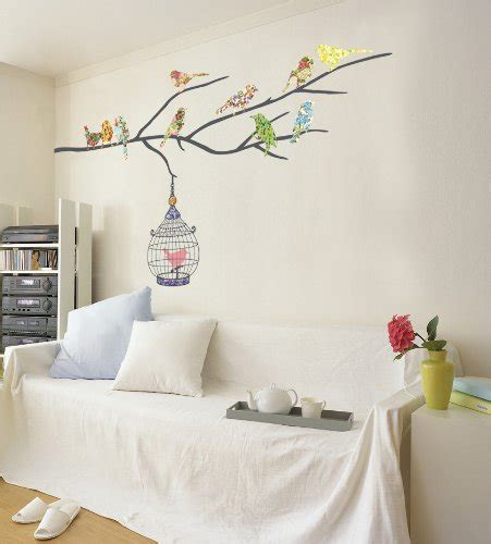 Nursery Bird Decor Nursery Decor Children S Nursery Room Wall Decal Birds On A Branch Nursery For Baby