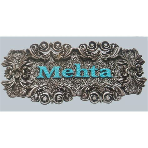 100 decorative name plates for home transportation