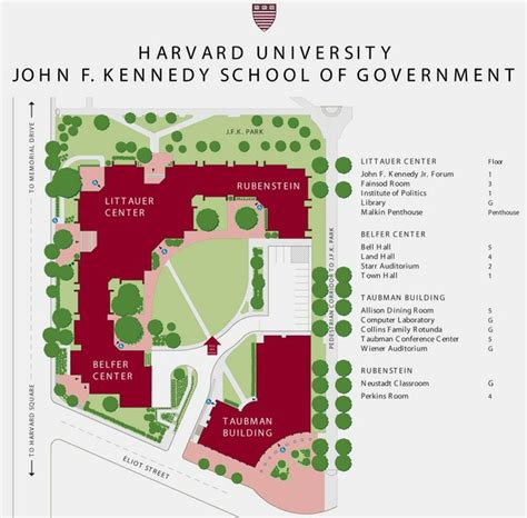 Johns Ma Mba Government by F Kennedy School Of Government Cus Map Cambridge