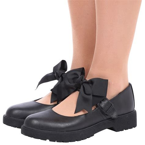 janes shoes womens janes bow school shoes low