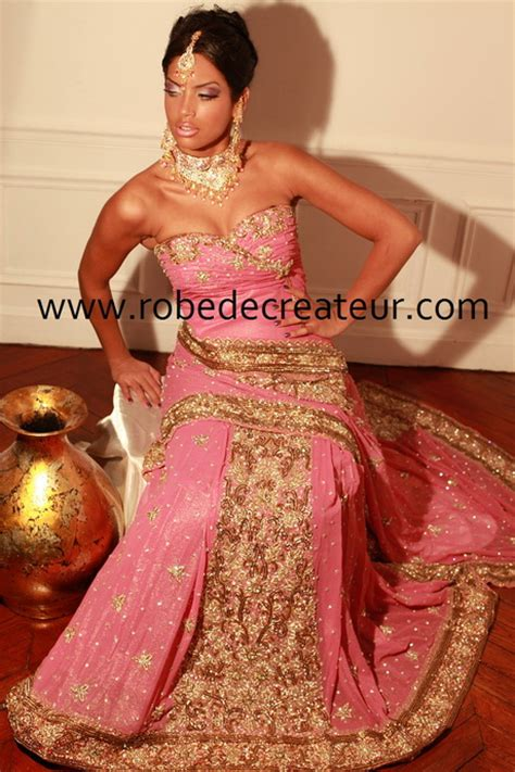 robe de soiree indienne - Robe Cocktail Indienne