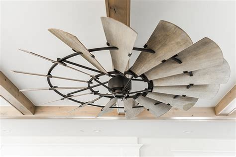 modern farmhouse ceiling fan new construction modern farmhouse design home bunch