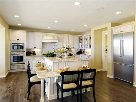 Eat In Kitchen Island Designs | kitchen island design ideas pictures options tips hgtv