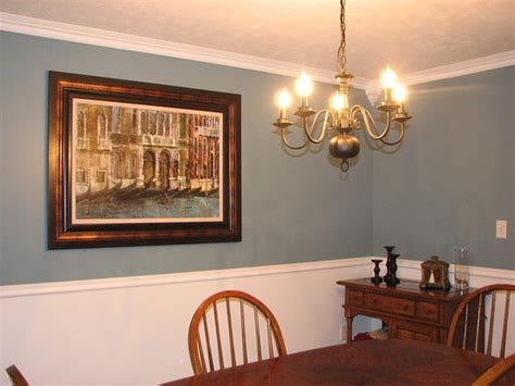 Dining Room Paint Color Ideas With Chair Rail Dining Room Colors With Chair Rail Gen4congress