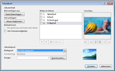Powerpoint Design Vorlagen ändern 196 Ndern Der Darstellung Bildern In Einem Fotoalbum Powerpoint