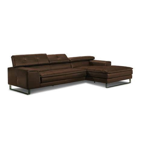 canap 233 d angle chaise longue en cuir haut de gamme italien