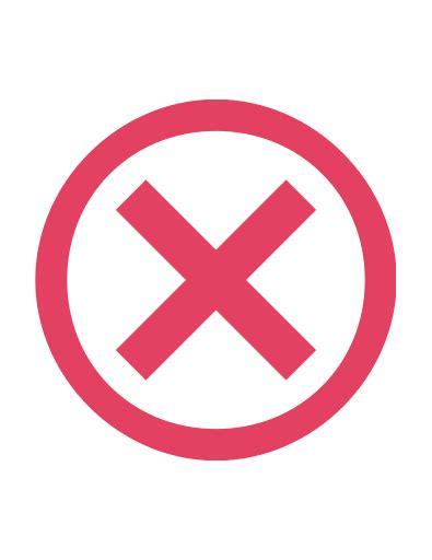 Circle, close, cross, delete, incorrect, invalid, x icon ...