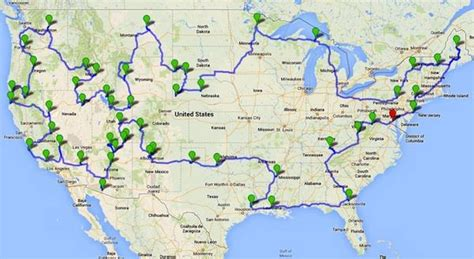 map us national park system national parks