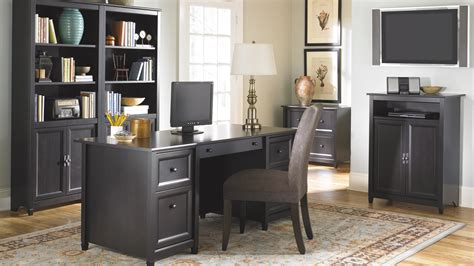 Black Home Office Furniture Collections Modern Cottage Furniture Collection Edge Water Living Room Dining And Home Office Furniture